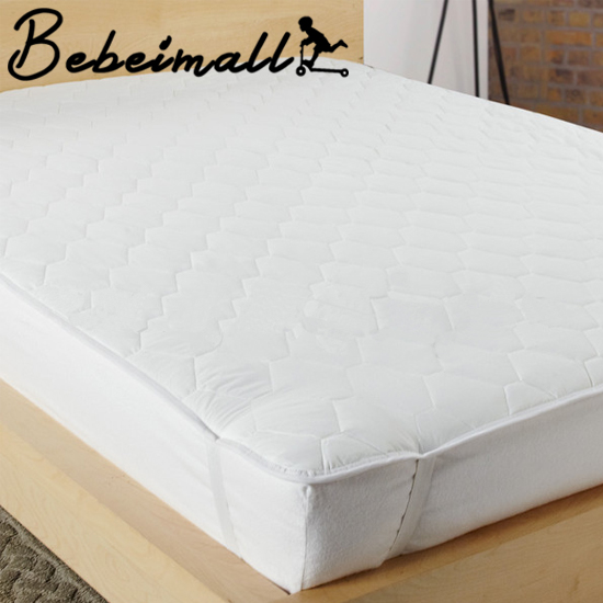 New Luxury Universal Mattress Topper Cover Pad Feather Bed Cotton