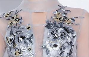 Image 5 - Fariy hafty sukienki koktajlowe z krótszym przodem długie plecy 2019 elegancka linia okazje Party suknie wieczorowe sukienka na studniówkę