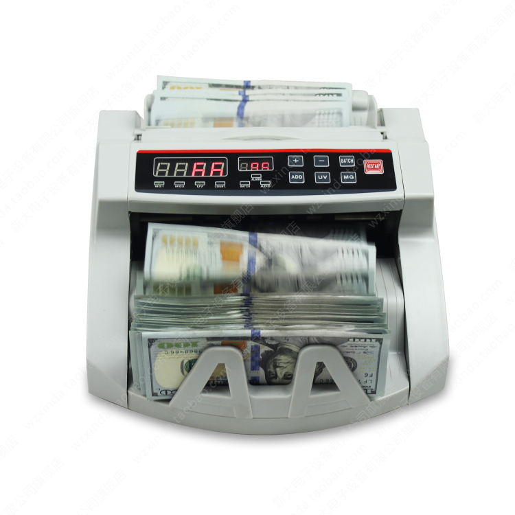 цена на 2pcs/Lot UV/MG Bill Counter, Money Counter ,Suitable for EURO US AUD etc. Cash Counting Machine Multi-Currency Compatible