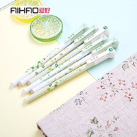 0 5mm Full Needle Neutral Pen With Eraser School And Office Supplies Fresh Fashion And Creative