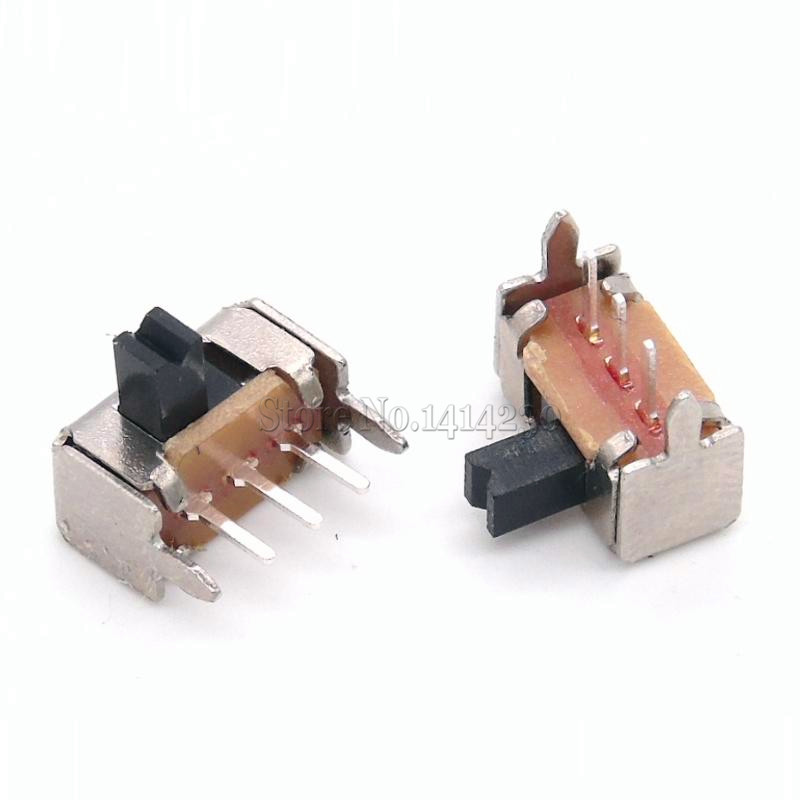 10Pcs Toggle switch SK12D07VG3 stents Small toggle switch/3 mm high Miniature Slide Switch Side Knob freeshipping ad574asdz ad574asd
