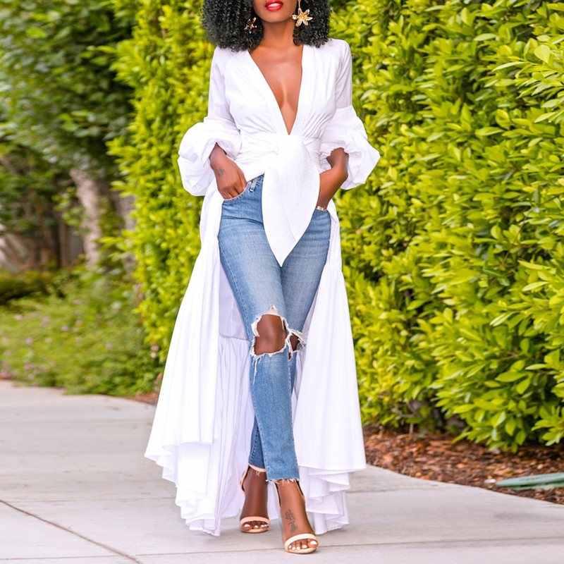 קיץ סקסי מועדון אלגנטי לבן בתוספת גודל אפריקאי חולצה נשים מקרית Slim רגיל פשוט 2019 שיק נקבה אופנה חולצות חולצות