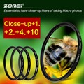 Zomei 52-82mm Marco Close-Up +2+4+8 Time Filter Kit For Canon Nikon Sony Camera DSLR