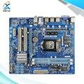 Para gigabyte ga-h55m-s2 h55m-s2 original usado madre de escritorio de intel h55 socket lga 1156 ddr3 micro-atx en venta