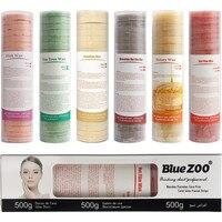 New 500G Depilatory Hair Wax Brazilian Hard Wax No Wax Strip Depilatory Hot Film Hard Wax