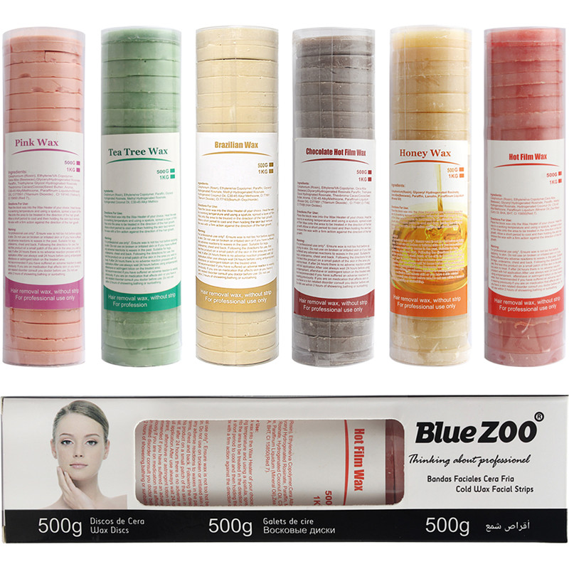 New 500G Depilatory Hair Wax Brazilian Hard Wax No Wax Strip Depilatory Hot Film Hard Wax Pellet For Body Bikini Face Hair Remov солкосерил мазь 5% 20г