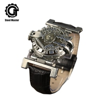 Watches Men Steampunk Quartz Watch Fashion Chronogr