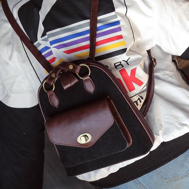 Kpop 2016 New Belts Hot Leatherd Strlre Backpack Female Novelty Women Girl Middle School Students Bag
