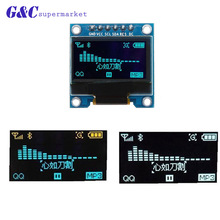Driver-Chip SSD1306 128x64 Oled Arduino Oled-Display-Module Yellow Double-Color Blue
