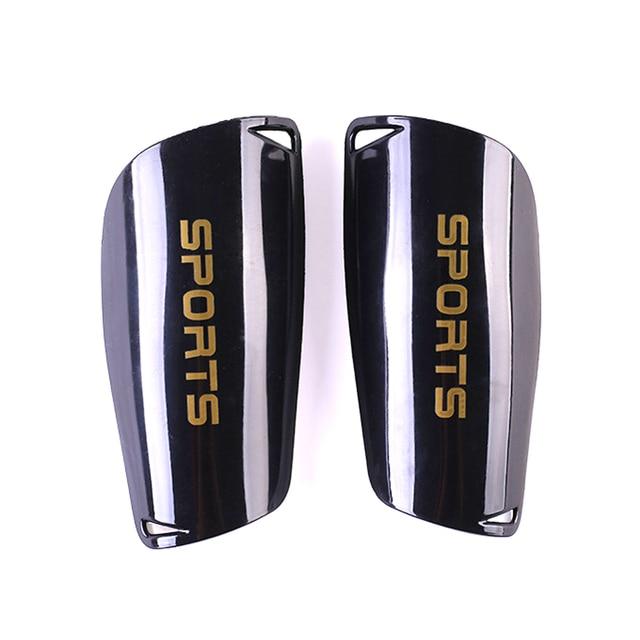 1 par de espinilleras de fútbol antideslizante escudo adultos niños fútbol espinillero Protector de pierna