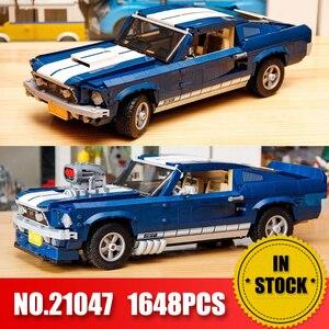 Forded Mustanged 21047 lepining Creator Technic lepinblocks Compatible 10265 Set Building Blocks Car Bricks Toys Birthday Gifts(China)