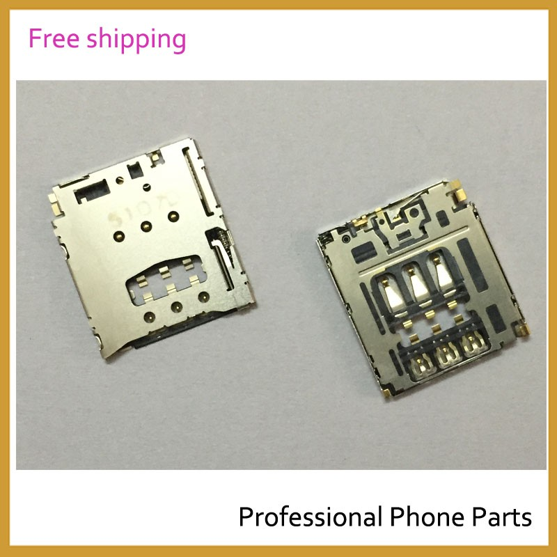 5 pcs/Lot , Original For Sony Xperia T3 Sim Reader Slot Holder Mobile Phone Repair Parts Replacement