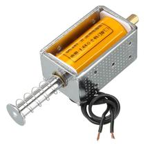VS1 AC220V DC12V DC24V 8A Push Pull типа открытая рама трубчатый Магнит Электромагнит