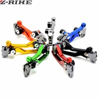 Universal Motorcycle CNC Pivot Brake Clutch Levers For KTM EXC EXCF EXC F 125 250 450