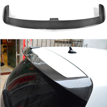 цена на Carbon Fiber Rear Trunk Roof Spoiler Decoration Use For Volkswagen VW Golf 6 VI MK6 Standard 2010-2013