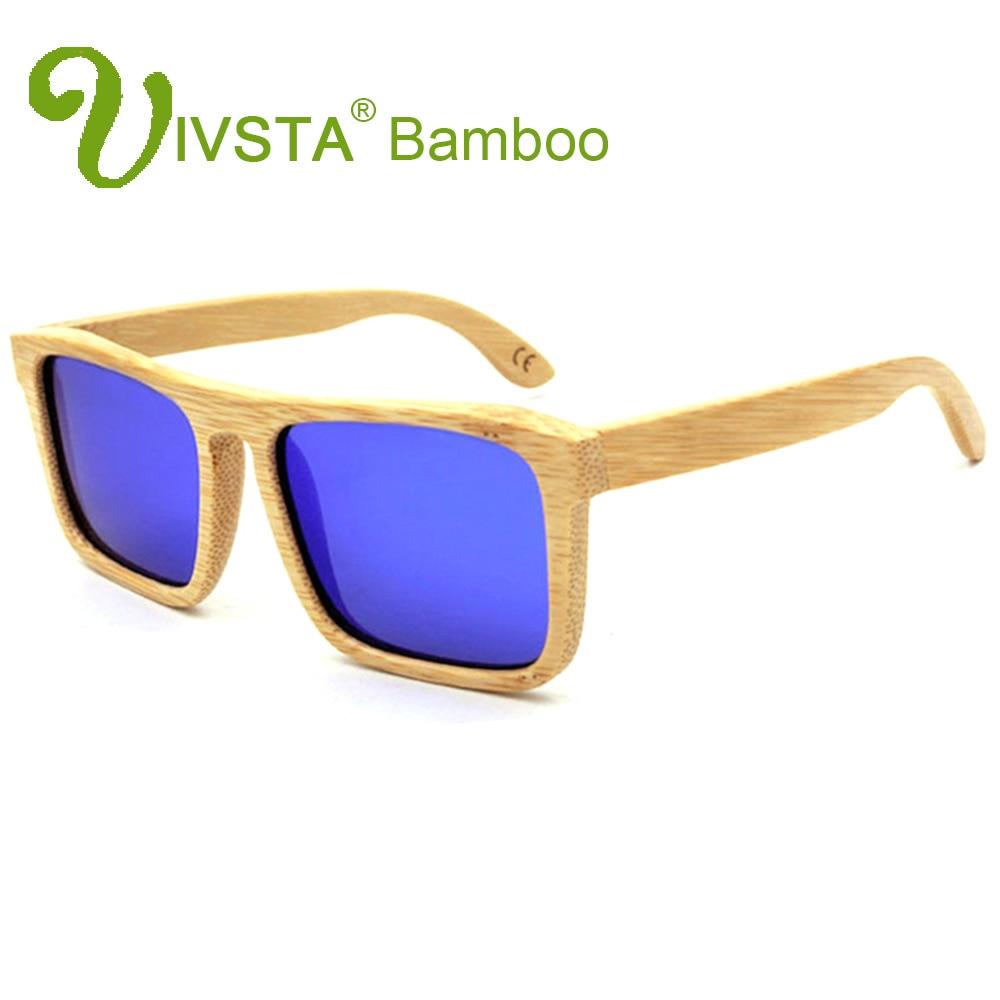 IVSTA Taxta Bambuk Eynəklər Kişi Günəş gözlükləri Ağac - Geyim aksesuarları - Fotoqrafiya 1