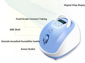 Image 3 - مُكثّف أوكسجين مولد أكسجين طبي للاستخدام المنزلي والمستشفى على مدار 24 ساعة باستمرار O2 آلة توريد شحن مجاني
