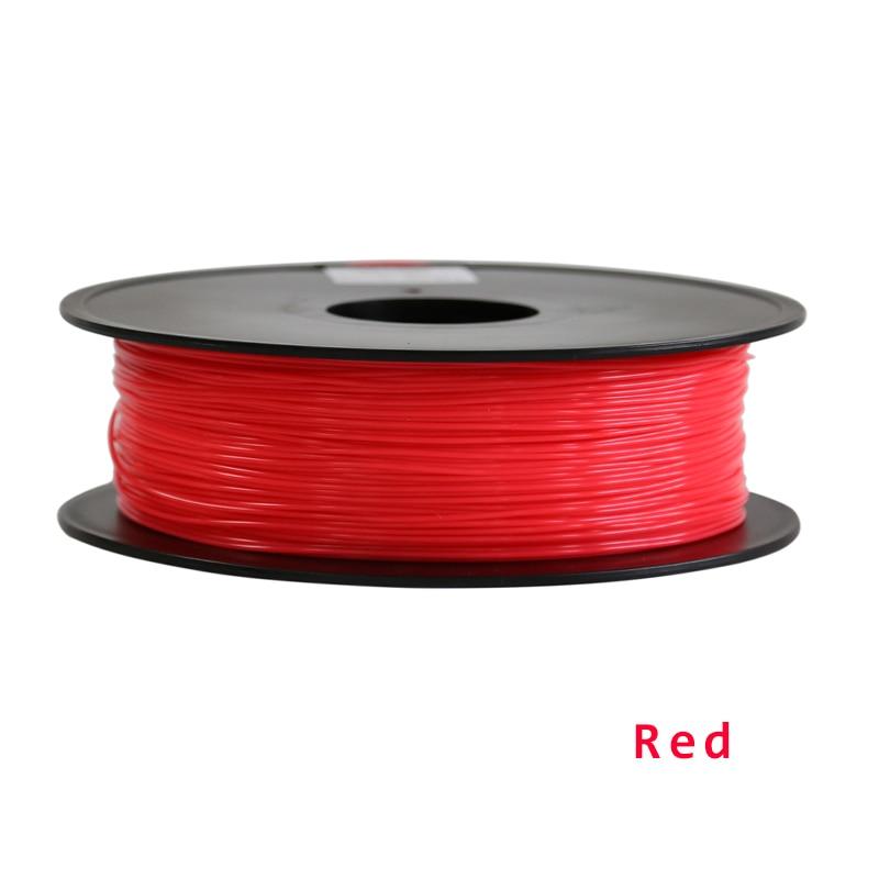 High Quality 3d printer filament 1KG/roll TPU 1.75mm 3d printer filament 5 color option best quality 1kg emodin 98