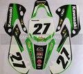 RACING 3M graphics kit decals STICKER for KAWASAKI MOTO motorcycle DIRT PIT BIKE KX65 KLX 110