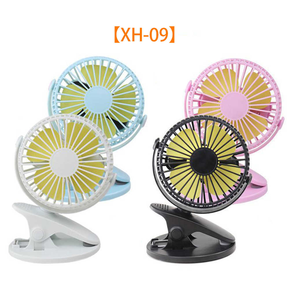 Automobiles Motorcycles Trunk Mini Fan Usb Rechargeable Car Home 360 Degree Clip Fan Student Portable Silent Fan