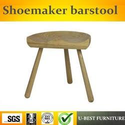 Бесплатная доставка, U-BEST, Датский дизайн на трёх ножках, барный стул