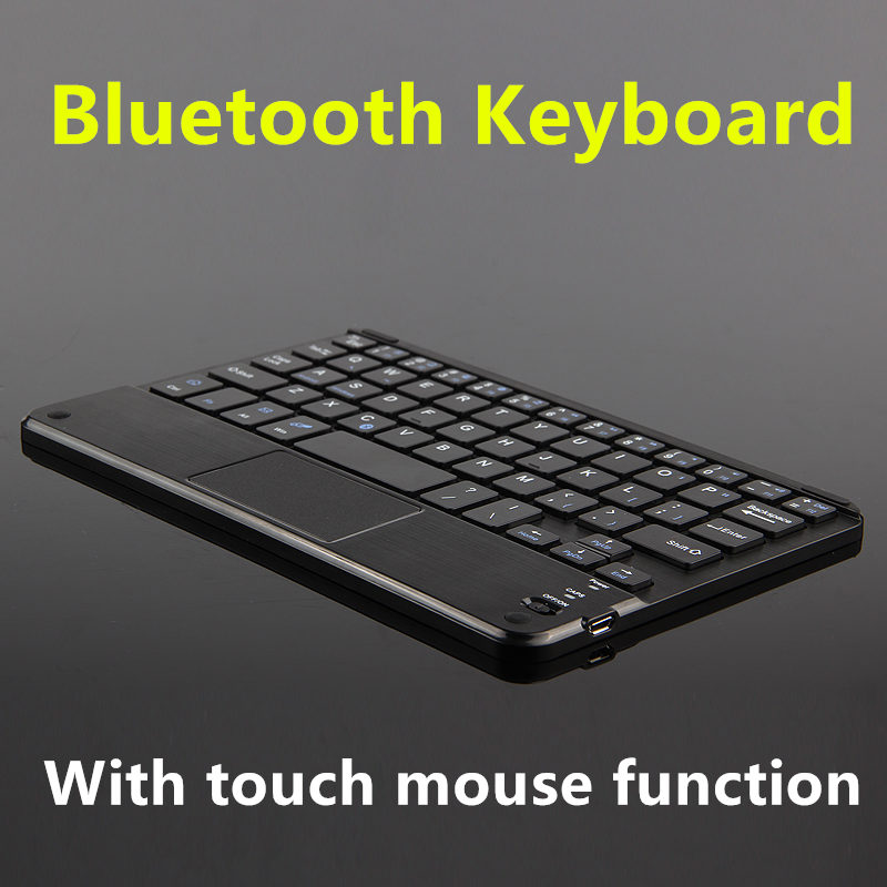 Bluetooth Keyboard For Huawei Lenovo Asus Tablet PC Wireless keyboard Android Windows Touch Pad Ultrathin TV Notebook 8inch Case bluetooth keyboard for teclast p80h x80 pro p89h tablet pc x80 plus x70r wireless keyboard android windows touch pad 8 inch case