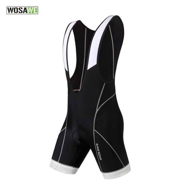 Wosawe <font><b>Cycling</b></font> Suspender <font><b>Shorts</b></font> Bretelle Ciclismo Breathable <font><b>Men</b></font> Women Clothing Reflective Silica Gel Pad Quick Dry Motocross image