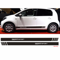092p For rs195 seat FR racing stripes ibiza leon ateca graphic decal stickers car stickers