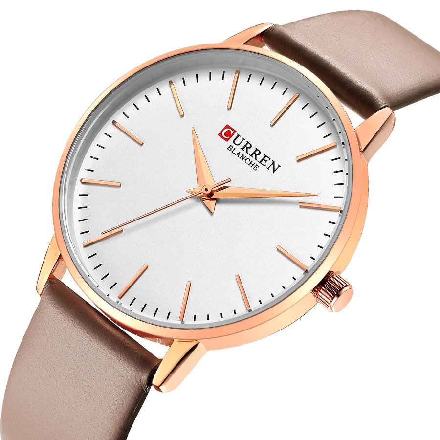 CURREN Women Watches Bracelet Watch Ladies Watches Women Top Luxury Brand Ultra Thin Women's Watches Bayan Kol Saati Fashion(China)
