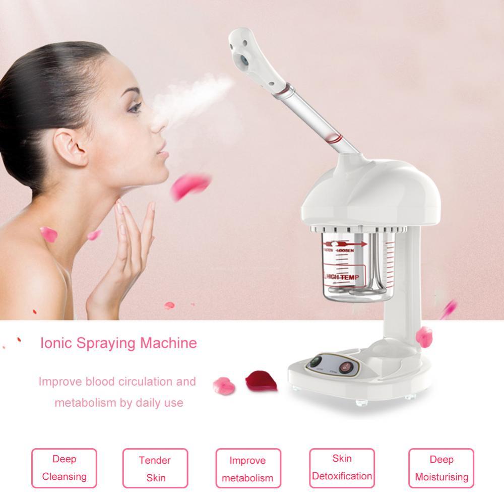 Facial Steamer Humidifier Ozone Sterilization Ionic