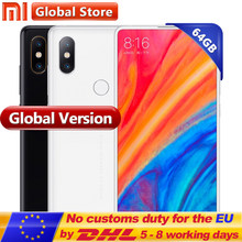 "Global Version Xiaomi Mi MIX 2S 64GB ROM Mobile Phone 6GB RAM Snapdragon 845 Octa Core 3400mAh 5.99"" Full Screen Display 12.0MP(China)"