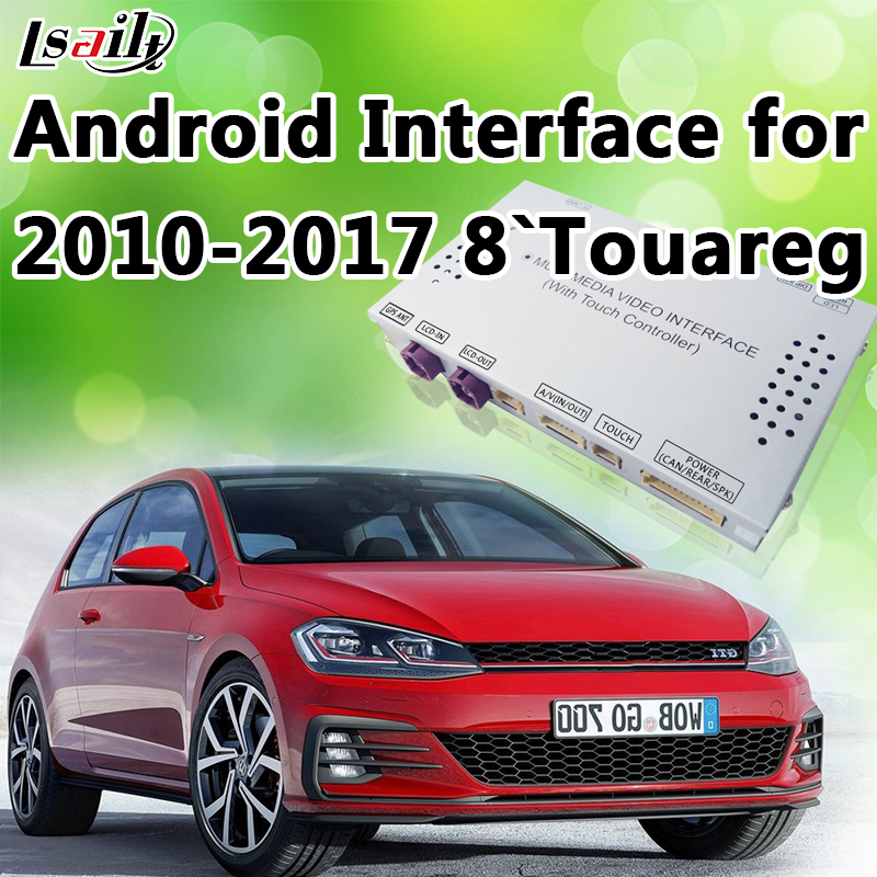 Android 6.0 Built in WIFI Android Navigation Box Video Interface for 2010 2015 Volkswagen Touareg 8 (Car RNS850 System)
