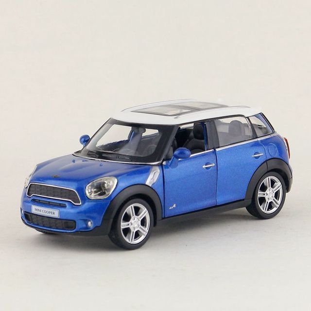 Mini Cooper Models >> Free Shipping Rmz City Toy Diecast Model 1 36 Scale Mini Cooper S Countryman Pull Back Car Educational Collection Gift For Kid In Diecasts Toy