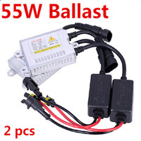 Free Shipping 1pair Hot 55W AC 12V Super Slim Ballast For Car Headlights Hid Xenon Kit