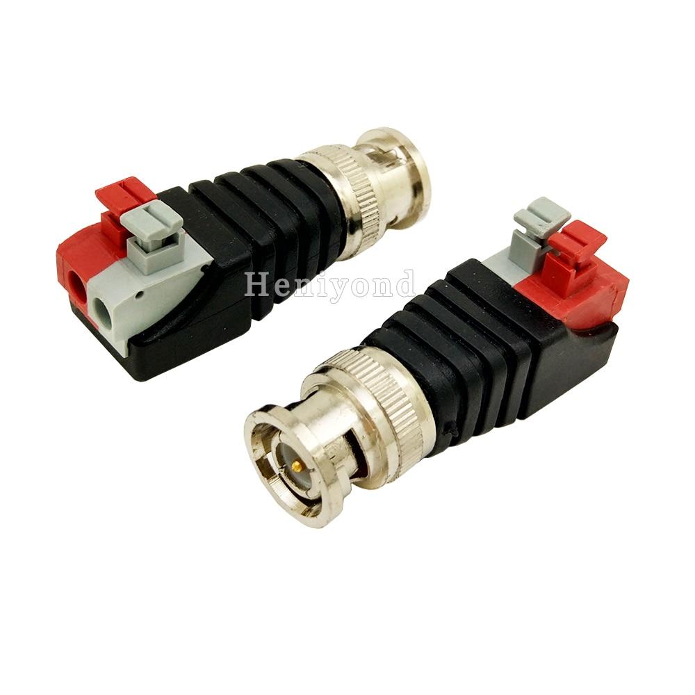 New lot of 12 Pcs Coax CAT5 Camera CCTV BNC Video Balun with Cable Transceiver