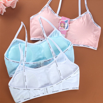 training bras for girls teenage underwear kids bras young children girl student bra top thin underwear for child teens summer цена 2017