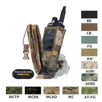 Emerson Tactical MOLLE Universal MBITR PRC 148 PRC 152 Radio Pouch EmersonGear Walkie Talkie Pocket with Quick release Buckle