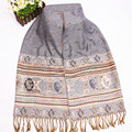 Wholesale and Retail Gray Fashion Women's Reversible Two-Face Pashmina shawl scarf Scarves Free shipping