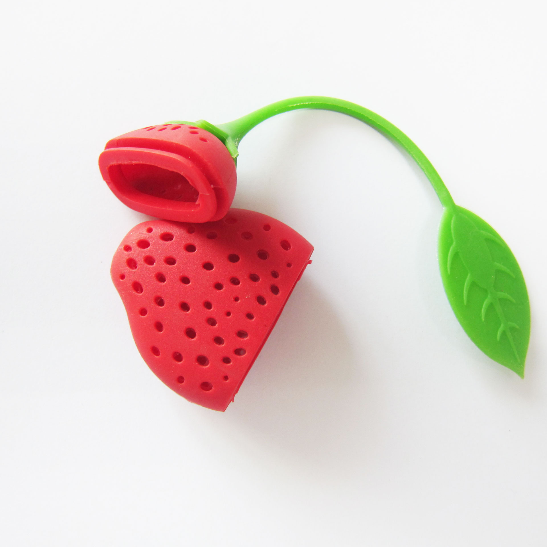Reusable Eco-friendly Tea Strainer Infuser Filter Strawberry (1pcs) 11