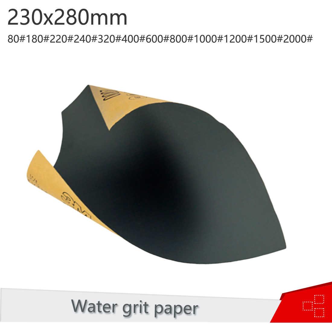 Wet Dry Areia Ferramenta De Madeira de Grãos 80-2000 Folha de Acabamento de Superfície De Papel Abrasivo Lixa Moer Móveis Giro Polonês Lustrando