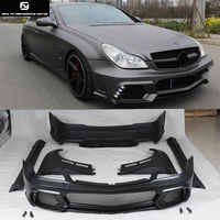 W219 CLS500 FRP front bumper rear bumper side skirts fenders exhaust pipes For Mercedes-Benz W219 car body kit 04-11