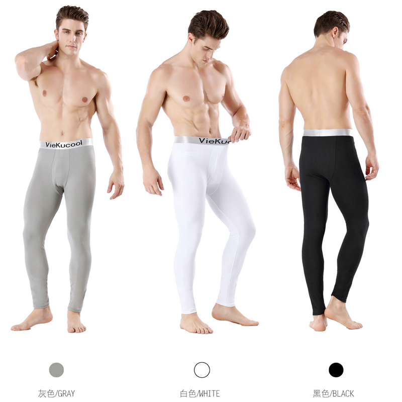 Men/'s Underwears Warmer Thicken Thermal Long Pants Underpants Winter Sleepwear