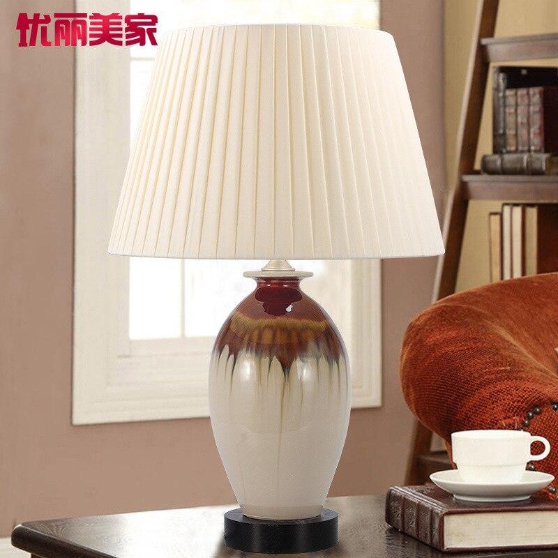 Туда 28X48 см Бесплатная доставка китайский Стиль Керамика настольная лампа творческие украшения настольная лампа Освещение в помещении нас... ...