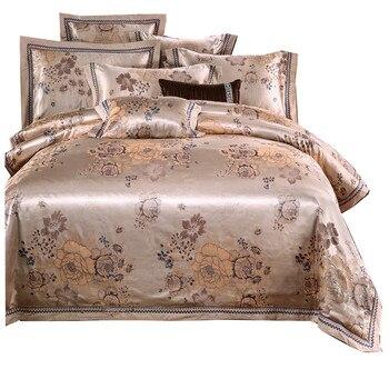 4pcs New Bedding Set Luxury Bedding Sets Cotton High Quality Jacquard Comfortable Bedding Duvet Cover Bed Sheet pillowcase Queen