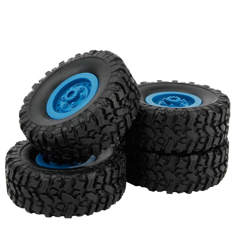 WPL B-24/ B-1 RC Tires For Truck 4pcs Tires RC Parts & Accessories For Kid DIY Assembled Tires For Toy Car Monster Truck 4pcs 1 9 rubber tires