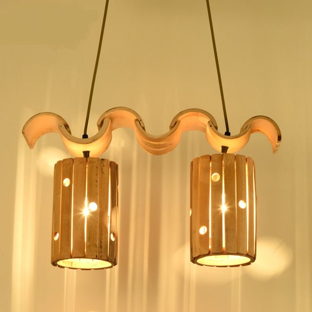 Online Shop Bamboe hanglampen landelijk Chinese tuin slaapkamer ...