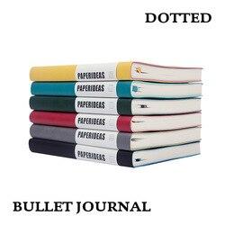 Пунктирной A5 Мягкая обложка дневника Тетрадь Bullet Journal Bujo