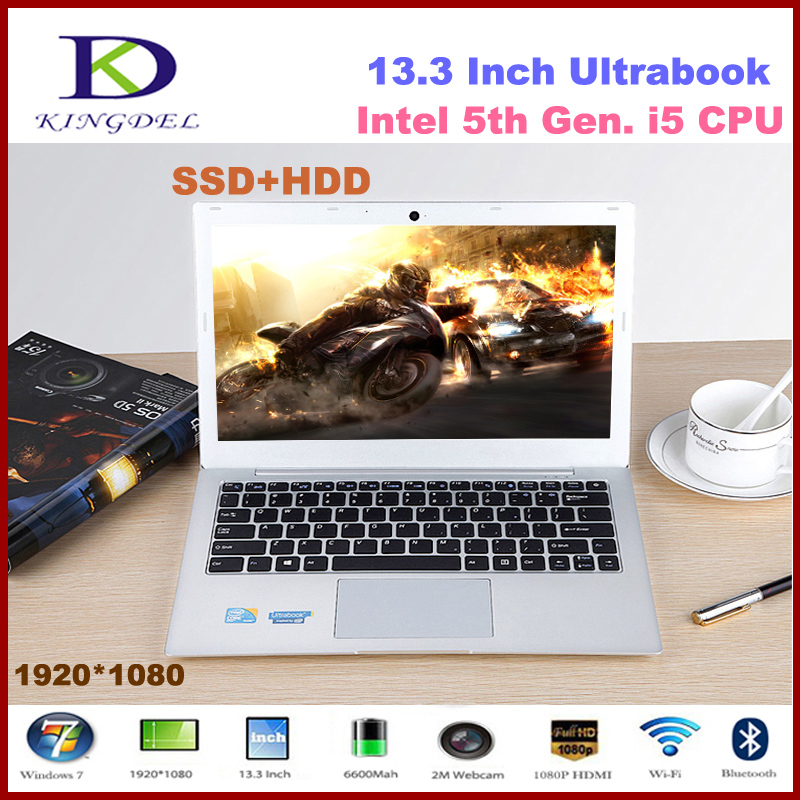 Core i5 Ultrabook Laptop Computer Notebook with 8GB RAM & 128GB SSD+1TB HDD Wifi HDMI Bluetooth Windows 8.1 Aluminum Alloy Case i5 ultrabook laptop computer with 4gb ram 32gb ssd wifi bluetooth hdmi webcam windows 10 notebook