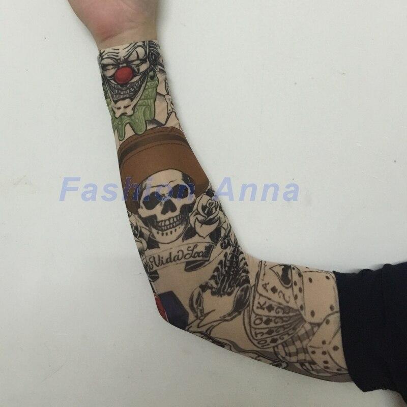 Buy 8pcs temporary fake slip on tattoo for Temporary tattoos sleeve