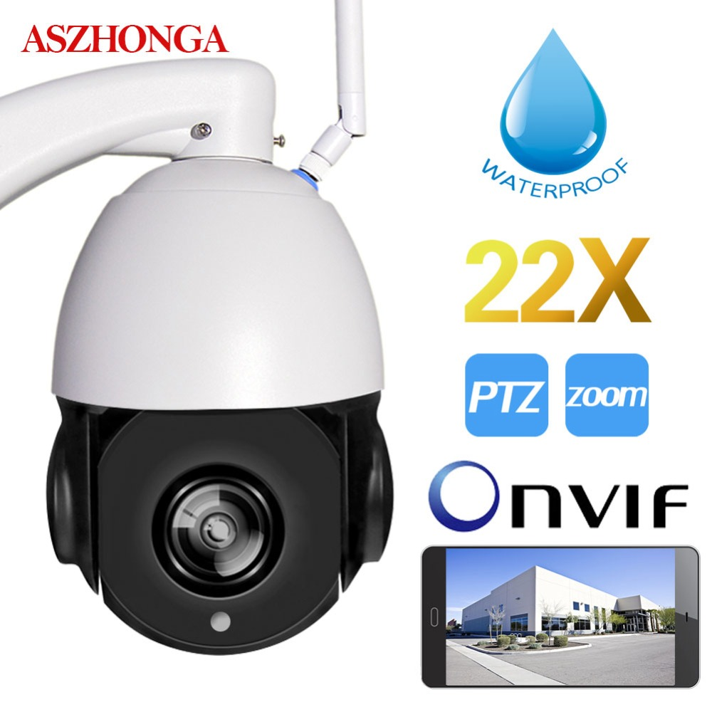 YSA Outdoor 4'' High Speed Dome PTZ IP Camera 22X Optical Zoom Wireless Wi-fi 1080P 960P IP66 Waterproof Security CCTV Camera цены